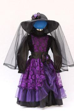 vestido de catrina para nia buscar con google