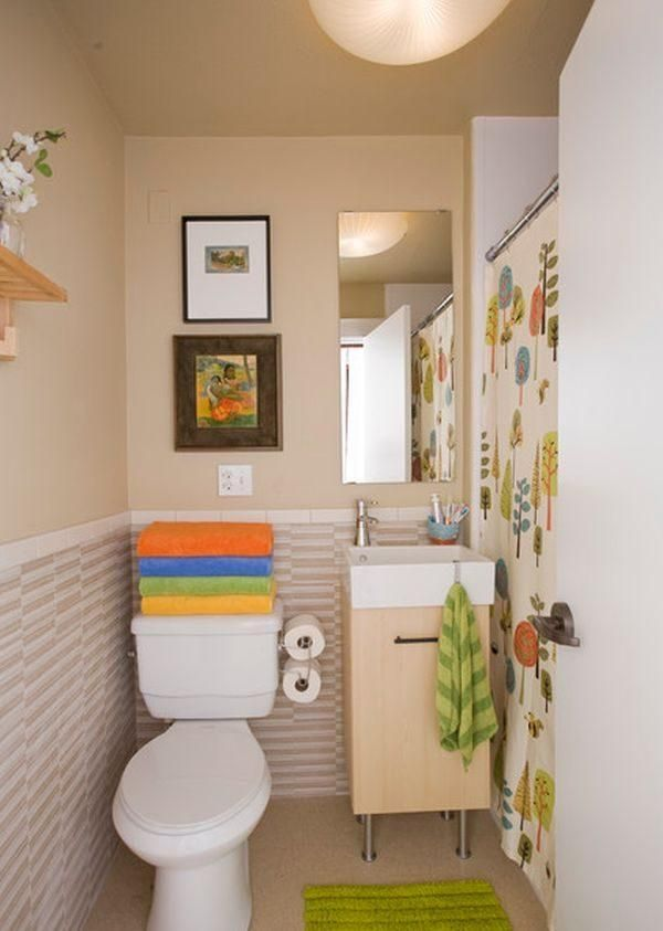 Baños para lugares pequeños Lugares pequeños, Baños y Pequeños