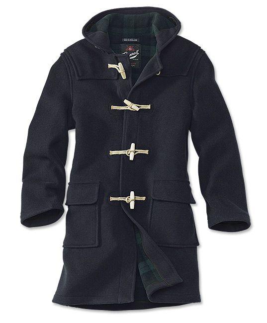 Navy Wool Duffle Coat   Duffle coat