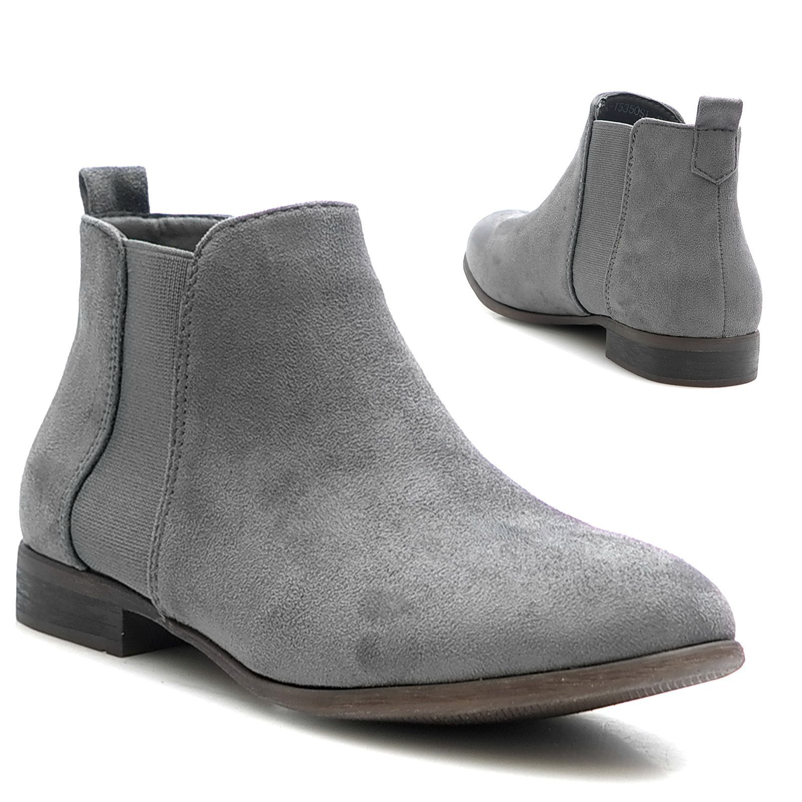 schuhe stiefel stiefeletten ankle boots gummizug chelsea bootie shoes 41 42
