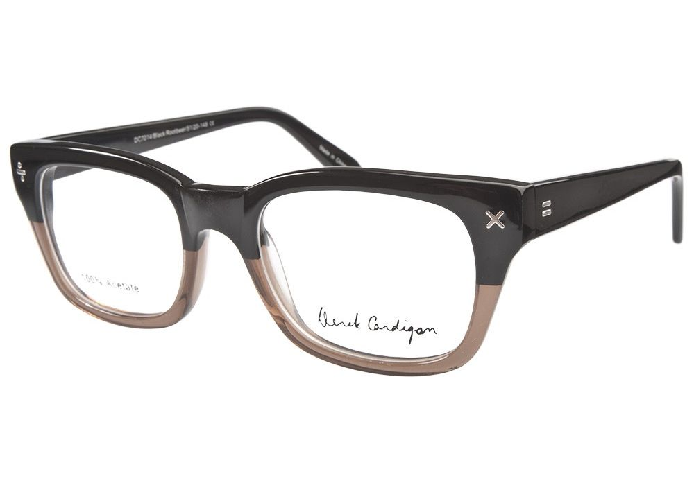 e954ea2e4c4 Derek Cardigan 7014 Black Rootbeer eyeglasses. Get low prices ...