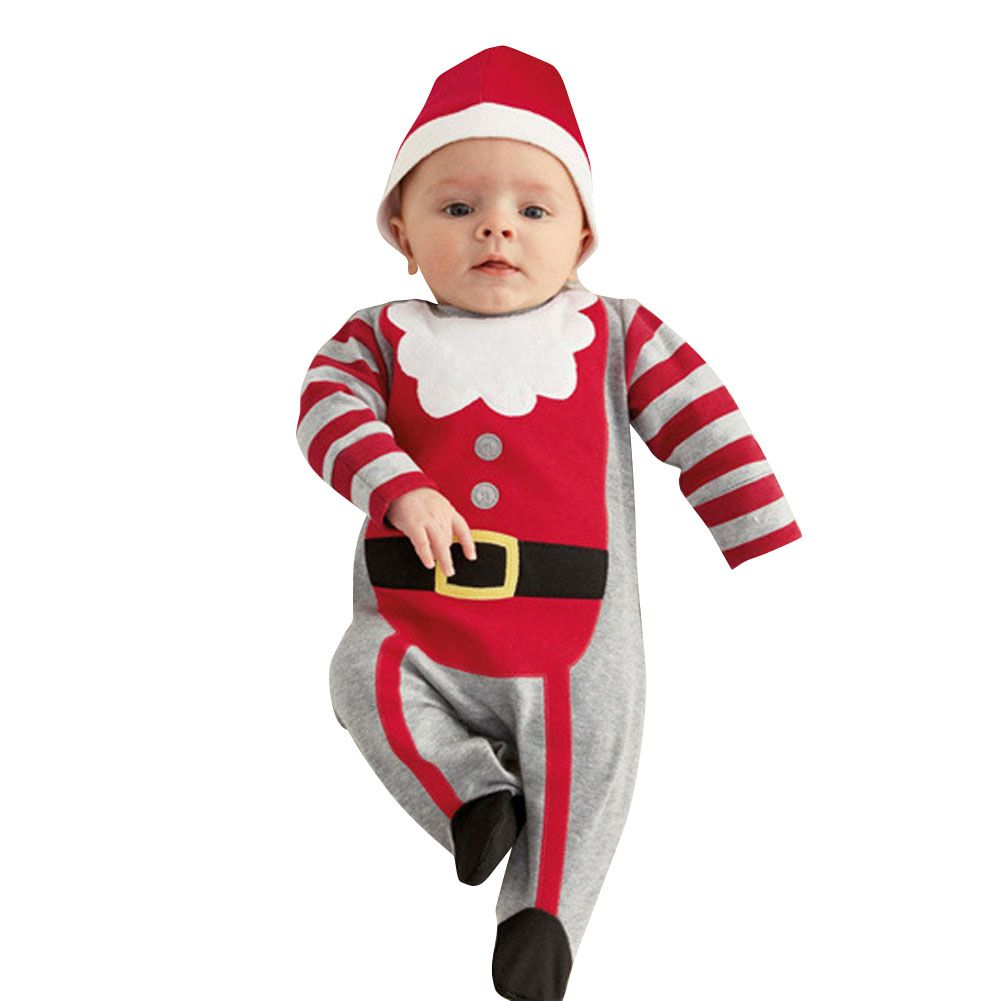 b5388d0fd1785 Autumn Winter Baby Romper with Hat Fashion Girls Boys Infant Long Sleeve  One-piece Jumpsuit