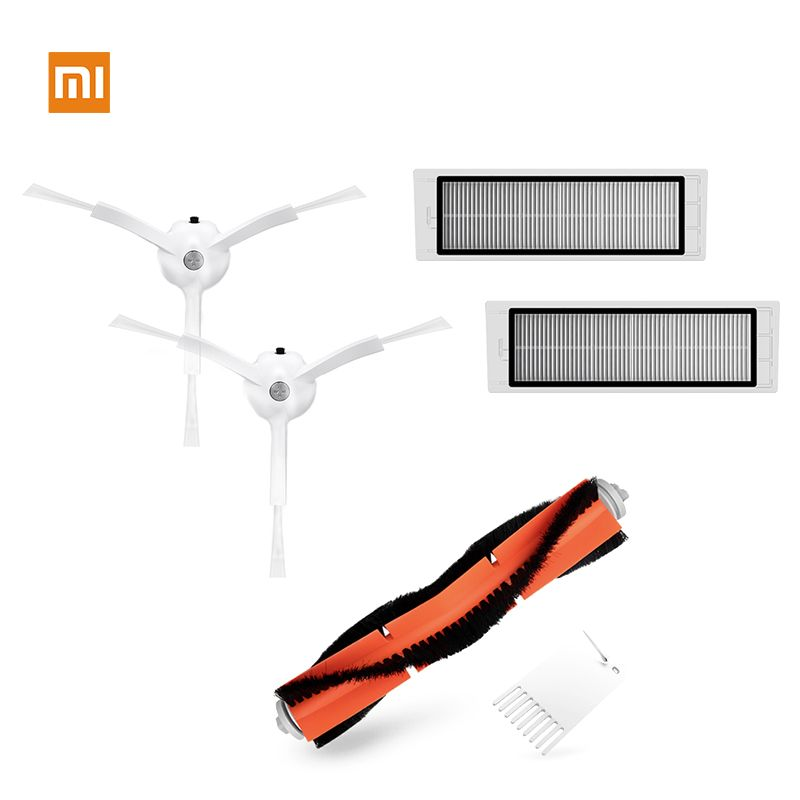 HEPA Filter Seitenbürste Staubsauger Set für XiaoMi Mi Roboter Vacuum Cleaner
