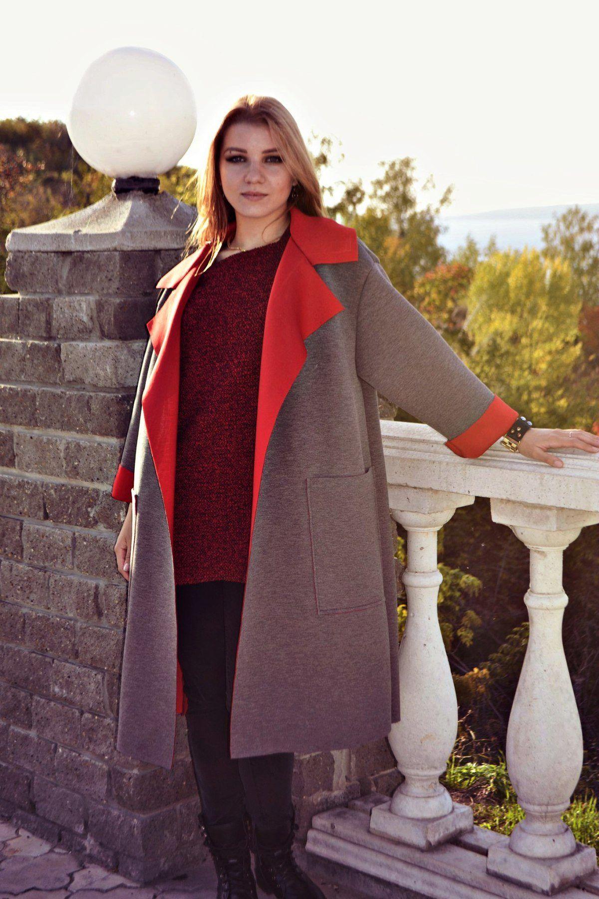 c6d6d9bbd0d3 Пальто из неопрена (76 фото)  модные коллекции дизайнеров, отзывы ...