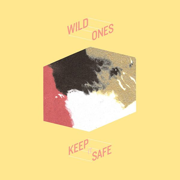 wild ones - keep it safe yellow/white swirl - $12