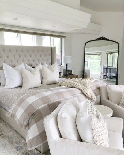 #bedroomdecor #bedding #farmhousebedroom #bedroomideas #cozyhome
