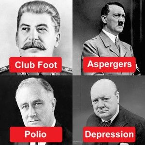 These 4 Leaders had Disabilities but were still able to get people to follow them.