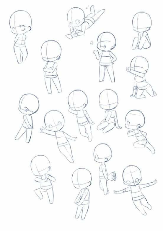 Body Kun amp Body Chan Manga Figuren für Künstler