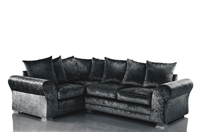 Jupiter Velvet Fabric Corner Sofa Corner Sofa Sofa Velvet Corner Sofa