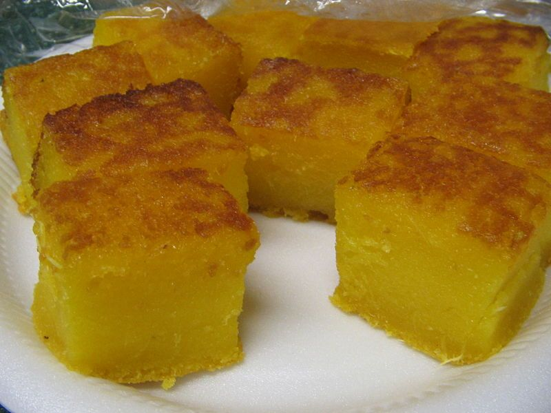 Mom Work Bingka Ubi Makanan Kue Resep