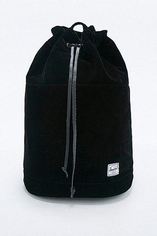 038e1f312cd Herschel Supply co. Hanson Black Velvet Backpack