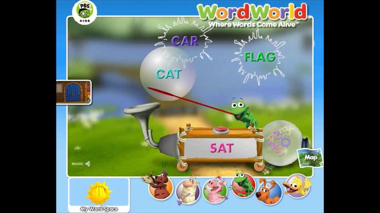 Word World Frog S Rhyming Machine Word World Games Pbs Kids Pbs Kids Kids Learning Kids
