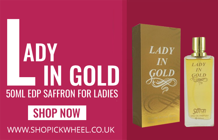 7a10066d6d1 Lady in Gold Ladies 50ml EDP Saffron Perfume Brand  Saffron Perfume  Fragrance Range