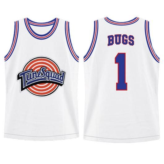 4fe68c7933bf30 Bugs Bunny  1 Space Jam Tune Squad Looney Tunes Jersey