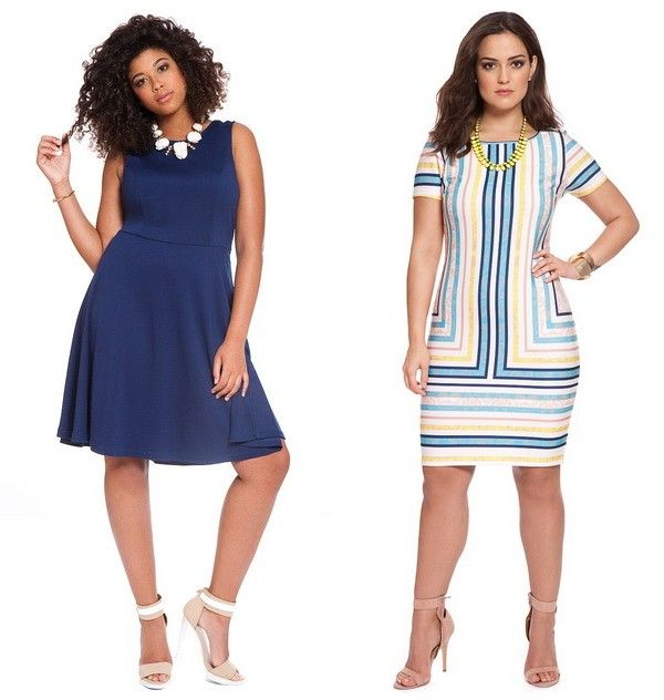 2015 fashion dresses for plus size women | Curvy fashion ...