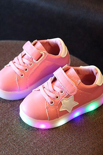 Conception innovante cbe70 66344 Chaussure Led Avec Étoile | ENFANT | Chaussure led ...