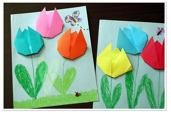 Easy Paper Butterfly Construction Paper Crafts Paper Crafts Diy