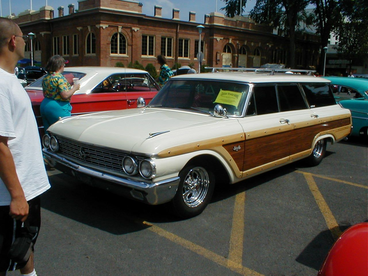 1962 ford galaxie country squire