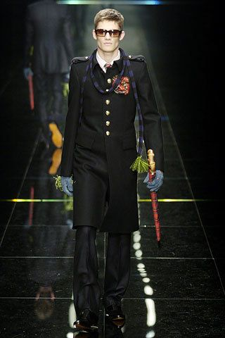 Burberry Fall 2005 Menswear Fashion Show - Danny Beauchamp