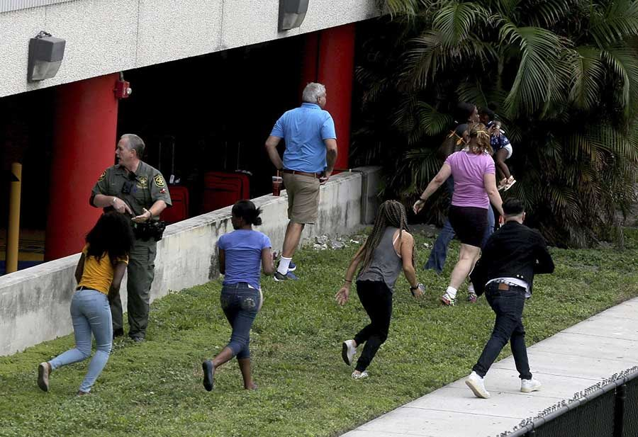 Fort Lauderdale Attack Survivor Prayed and Was Shielded