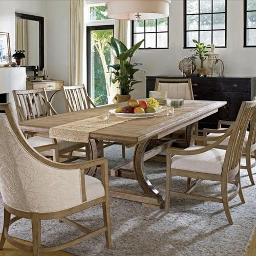 Stanley Furniture Coastal Living Resort 7 Piece Shelter Bay Table Adorable Stanley Dining Room Set Design Decoration