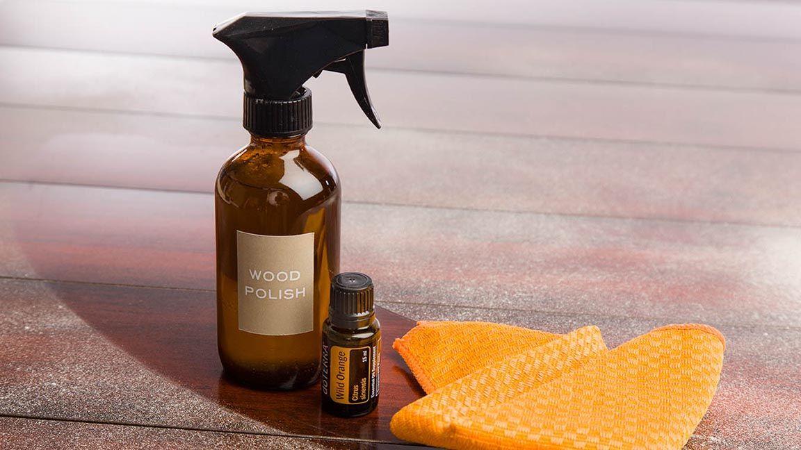 DIY: Wood Polish | doTERRA Essential Oils | dōTERRA Essential Oils 1/4c olive oil, 1/4c vinegar, 10 drops EO of choice shake well and use microfiber rag to ...