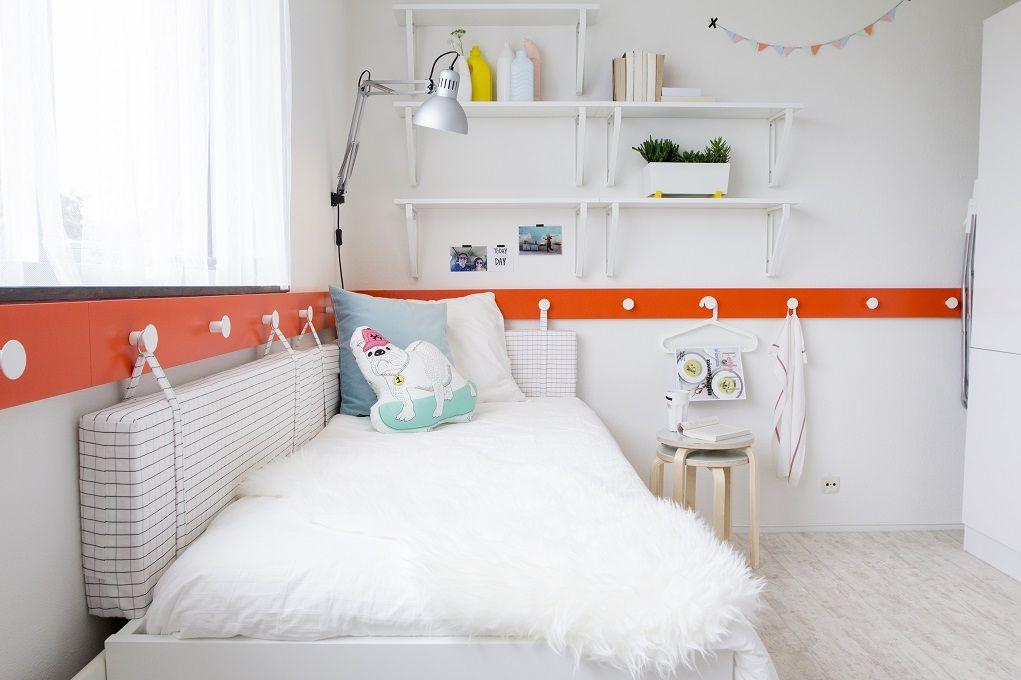 EKBY ÖSTEN / EKBY LERBERG Wandplank, wit | Plank, Bed room and Kids ...