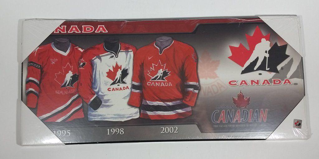 Molson Canadian Hockey Canada Team Jersey History Wall