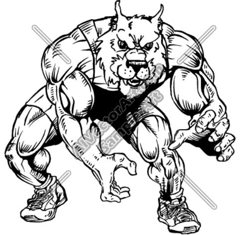 Bobcat Wrestling Logos