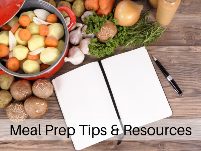 Learn 4 methods of food prep so you can pull together meals and recipes in a flash. With resources for healthy recipes, meal planning and food prep tips. WeighToMaintain.com