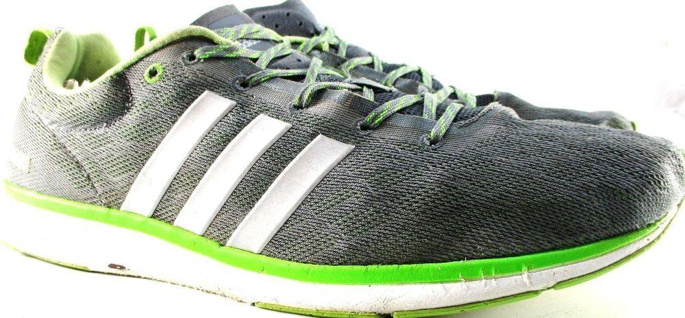 timeless design 3bfc3 04c30 Adadis Avengers Men Low Top Athletic Shoes Size 11.5 Euro 46 Gray White  Green Adidas BasketballShoes