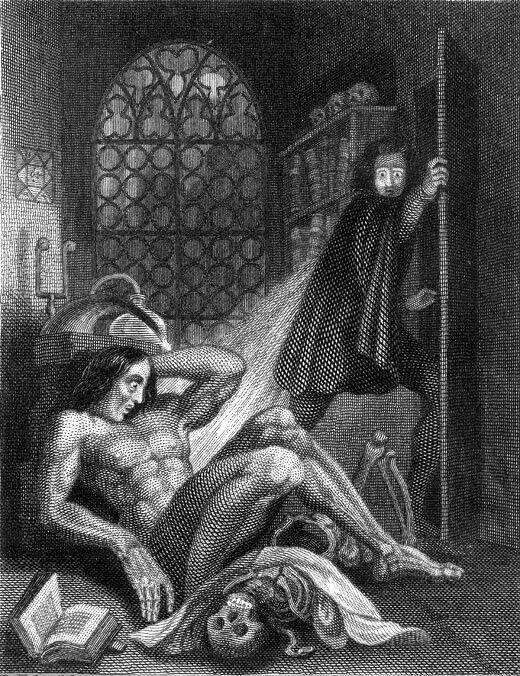 Gothic horror illustrations