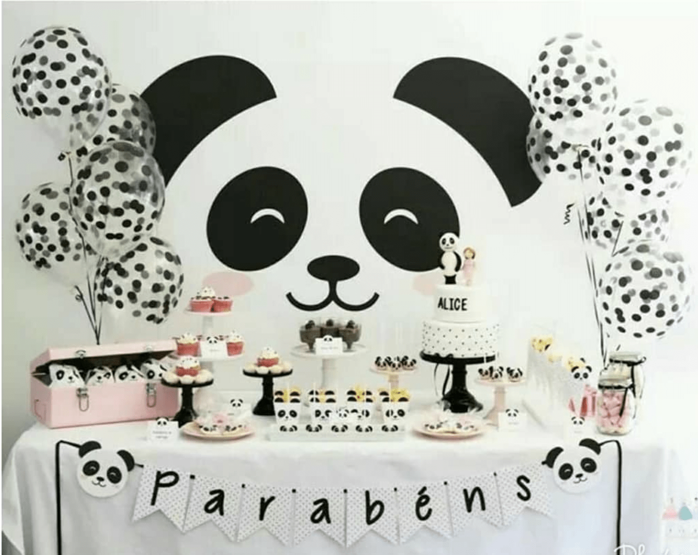 Panda Party Ideas- Total Panda-Monium! – B. Lovely Events