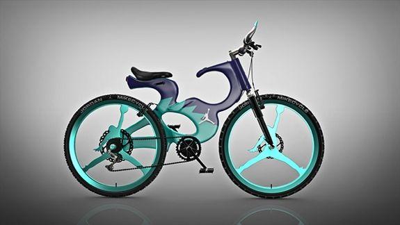 air jordan 1 modelos de bicicleta