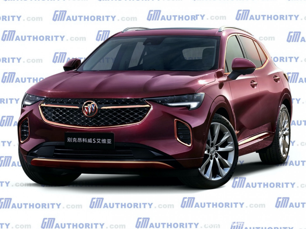 2021 Buick Envision Colors Redesign Buick Envision Buick Enclave Buick