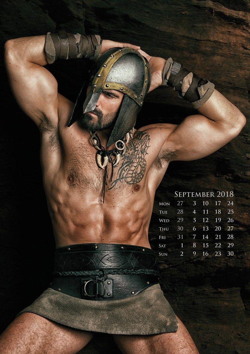 Sexy men sports calendar