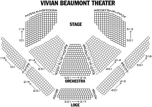 Al Hirschfeld Theatre Seating Chart - Kinky Boots - Broadway - seating chart