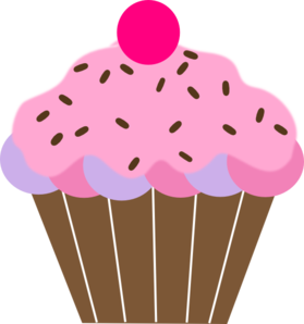 pink cupcake clip art vector clip art online royalty free rh pinterest ie birthday cupcake clipart images