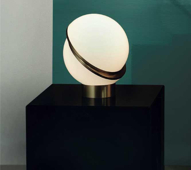 Lampada Da Tavolo Modello Doble Complementi e illuminazione, Illuminazione
