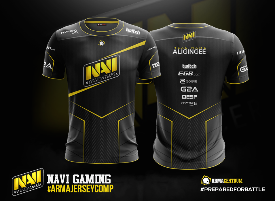 eSports Jersey Designs on Behance | Desain logo, Kaos ...
