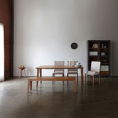 Design By Conran Cairns Dining Collection Contemporary Wood Dining Table Furniture Home