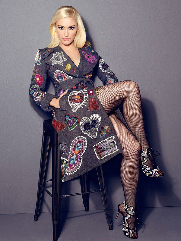 a8fec715d83fb0 Outtakes of Cosmo photoshoot by James White Gwen Stefani Legs
