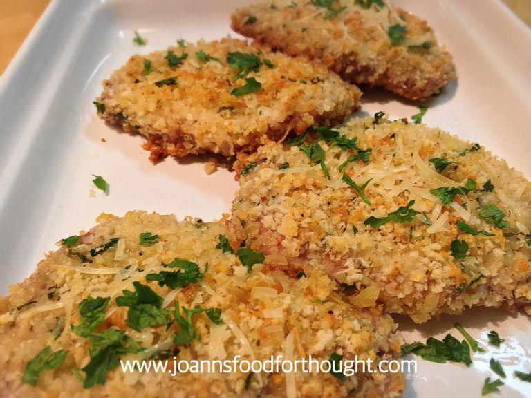 Baked Garlic and Parmesan Pork Chops images