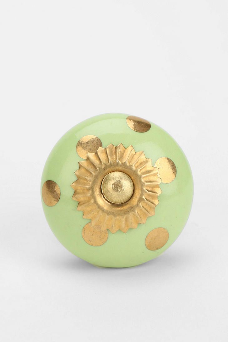 Ceramic polka dot knob for the home pinterest dots urban and