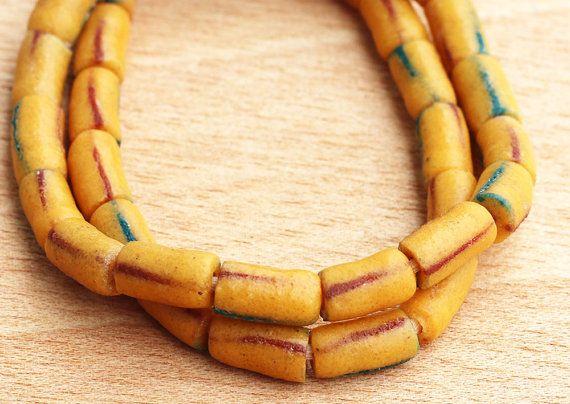 African Glass Beads Recycled Beads Krobo Beads Fair by Krobobeads