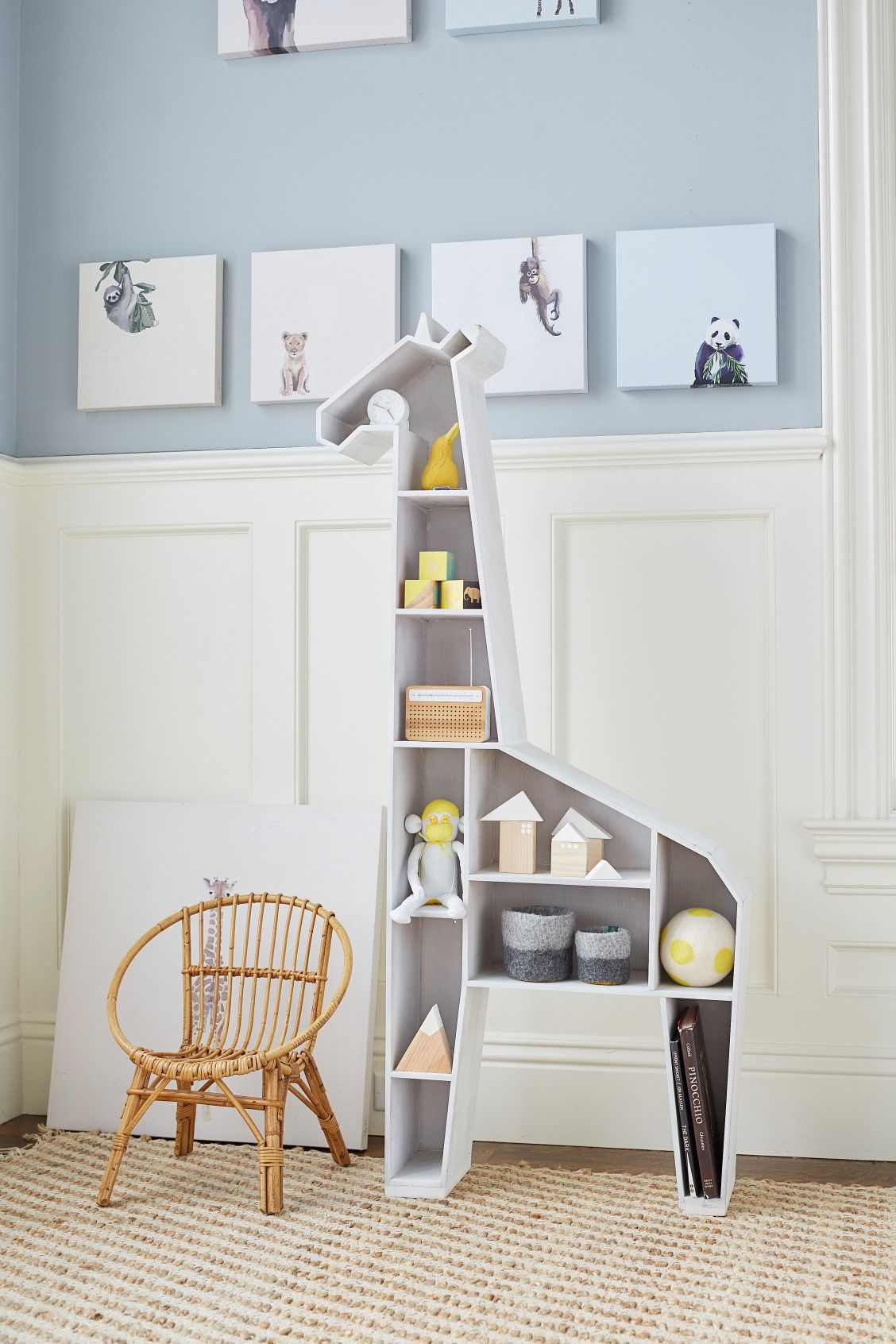 giraffe shelf gender neutral nursery ideas pinterest nursery