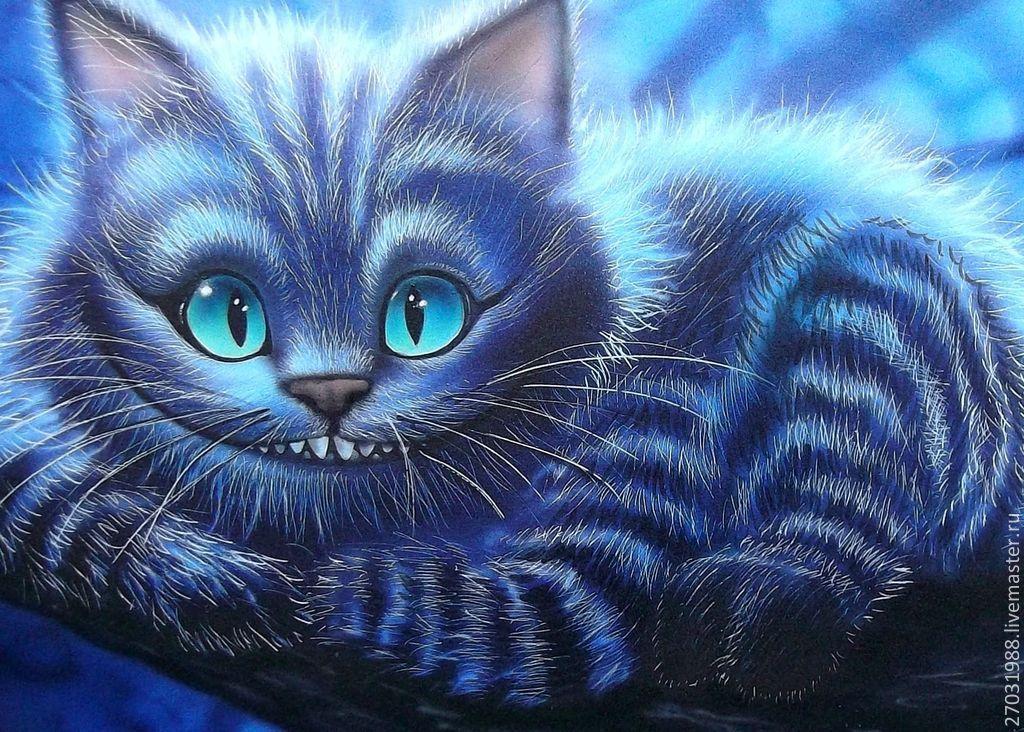 Чеширский кот картинки красивые