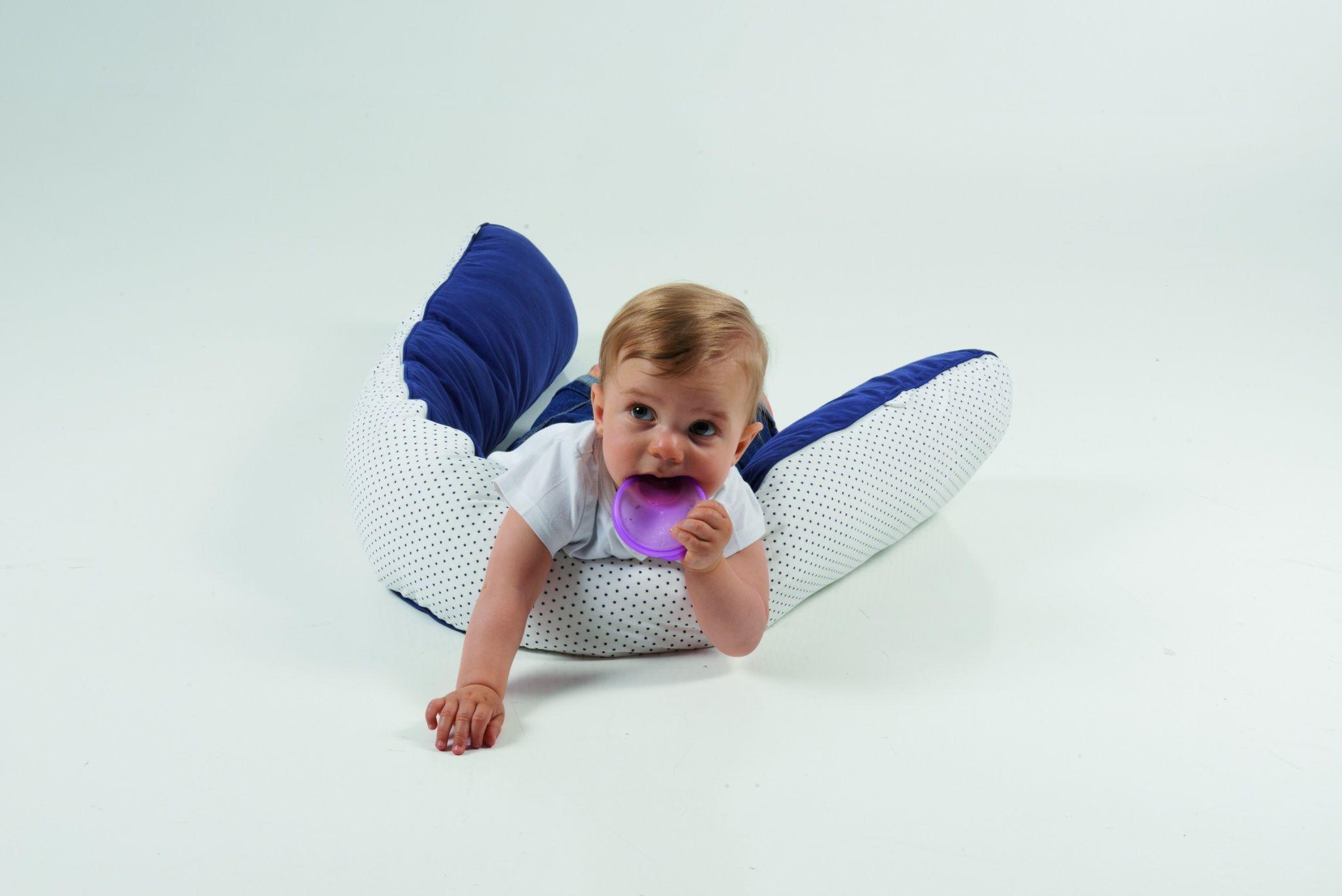 Candide MultiPurpose Comfort Cushion Jersey Grey/Dots