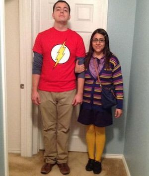 75 Easy DIY Couples Halloween Costumes - Prudent Penny Pincher #halloweencostumes