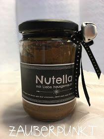 Nutella hausgemacht, frisch zubereitet, Schokoladenbrotaufstrich, Geschenke aus meiner Küche